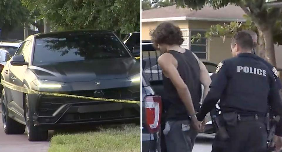 A driver took matters into his own hands earlier this week after seeing a 14-year-old boy steal his prized $250k Lamborghini. Source: KOLD 13
