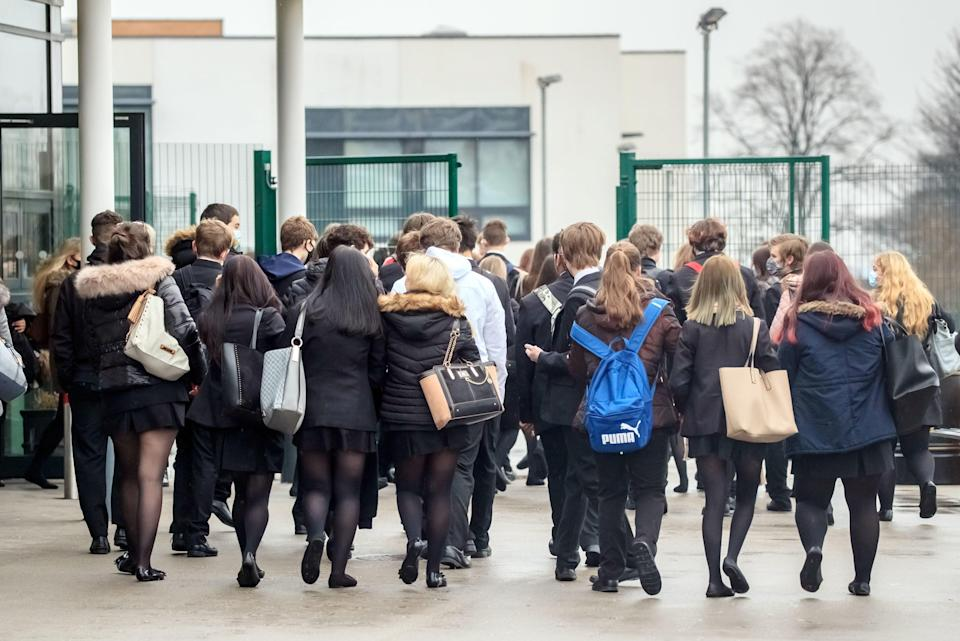 Schools reopened to all pupils on March 8 after being closed since JanuaryPA