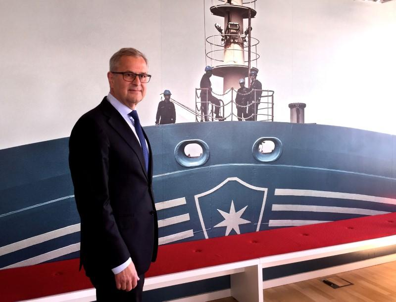 Maersk chief warns EU antitrust policy benefits China, U.S.