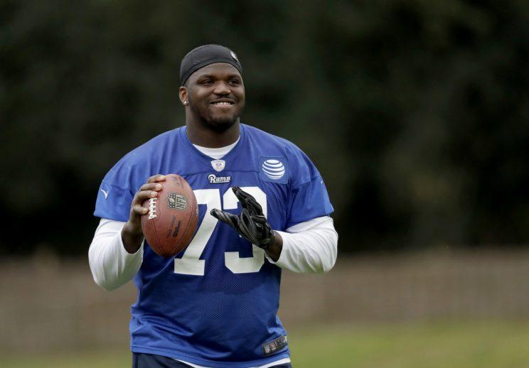 Former Buffalo Bills OT Cyrus Kouandjio signs with Detroit Lions
