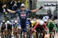 <p>While his superstar teammate overshadows him, Merlier is a solid sprinter who's having a career year (like van der Poel, he's also a top cyclocross racer during the winter season). His Stage 3 win is his second in a Grand Tour after a victory in May's Giro d'Italia. Not bad for a guy who'd never raced a Grand Tour until this year. </p><p>Merlier's victory—and Philipsen's second-place finish—underscores that Alpecin-Fenix, not Deceuninck-Quick Step, is the top sprint team at this year's Tour. DQS would be a top rival, but they were in disarray today. Their lead sprinter, Sam Bennett, is home with a knee injury while manager Patrick Lefevere starts needless feuds with him in the press. And Mark Cavendish, who could be the feel-good story of the race if he wins a stage in his return to the sport's biggest stage, was well off after getting caught up and delayed by the late-stage crashes. Elsewhere, Ewan, another major rival, is now out with a broken collarbone. Van der Poel still leads the overall, eight seconds clear of DQS's Julian Alaphilippe, who is at the top of the points standings after his fifth-place finish. INEOS Grenadiers' Richard Carapaz was the only GC rider to finish in the front group. He jumps to third overall. </p><p><strong>Who's Really Winning the Tour?</strong></p><p>The chaotic nature of the opening stages has seen various riders pinball around in the overall standings. Carapaz is a perfect example: he lost 13 seconds on the uphill finish of Stage 1, but today bounced back with his savvy (and lucky) ride. Bora-Hansgrohe's Wilco Kelderman managed to stay upright, and defending champion Tadej Pogačar lost minimal time after being delayed by a late crash. </p><p><strong>Who's Not Winning the Tour?</strong></p><p>Outside of Carapaz, it's been a dismal opening few stages for INEOS, with crashes for several riders. Thomas fell hard today, less than 40km into the stage, and reportedly suffered a separated shoulder that was reset on site by the team doc