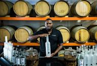 """<p><strong>Miami, Florida</strong></p> <p><a href=""""https://www.toastdistillers.com/"""" rel=""""nofollow noopener"""" target=""""_blank"""" data-ylk=""""slk:Toast Distillers"""" class=""""link rapid-noclick-resp"""">Toast Distillers</a> is best known for the ultra-premium vodka, Toast. Made from corn and coconut water, their vodka is distilled six times to be smooth enough to savor straight without the need for mixers. The distillery was founded by Miami restauranteur Dieuveny """"DJ"""" Lewis. After surviving the devastating 7.0 magnitude earthquake that struck Haiti in 2010, Lewis vowed to find ways to live life to the fullest: this includes using his spirits brand to support the efforts of first responders in a variety of locations and circumstances. Along with Toast vodka, the company also produces canned hard seltzers, rum, gin, and hand sanitizer.</p>"""