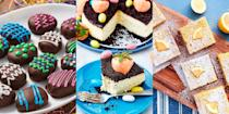 """<p>It's not Easter without a bunch of insanely delicious desserts, and we're not just talking about any desserts. We're talking <a href=""""https://www.delish.com/uk/cooking/recipes/a32031739/carrot-patch-cheesecake-recipe/"""" rel=""""nofollow noopener"""" target=""""_blank"""" data-ylk=""""slk:Carrot Patch Cheesecakes"""" class=""""link rapid-noclick-resp"""">Carrot Patch Cheesecakes</a>, <a href=""""http://www.delish.com/uk/cooking/recipes/a32091977/easter-egg-oreo-truffles-recipe/"""" rel=""""nofollow noopener"""" target=""""_blank"""" data-ylk=""""slk:Easter Egg Oreo Truffles"""" class=""""link rapid-noclick-resp"""">Easter Egg Oreo Truffles</a> and <a href=""""https://www.delish.com/uk/cooking/recipes/a32092026/chocolate-hot-cross-buns-recipe/"""" rel=""""nofollow noopener"""" target=""""_blank"""" data-ylk=""""slk:Chocolate Hot Cross Buns"""" class=""""link rapid-noclick-resp"""">Chocolate Hot Cross Buns</a>. They're easy to make ahead of the big day, and they're bound to be a hit with the whole family (what's not to love about over-indulgent Easter-themed desserts?). So, if you're looking for some much-needed dessert inspiration, we've got your back! Check out some of our favourite Easter desserts...</p>"""