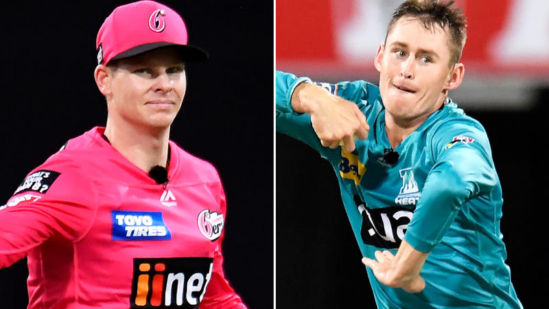 Steve Smith and Marnus Labuschagne, pictured here in action in the Big Bash.