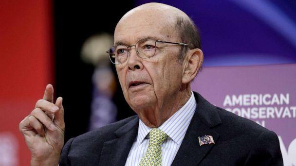 PHOTO: Commerce Secretary Wilbur Ross speaks at the Conservative Political Action Conference (CPAC) annual meeting at National Harbor near Washington, March 1, 2019. (Yuri Gripas/Reuters, FILE)