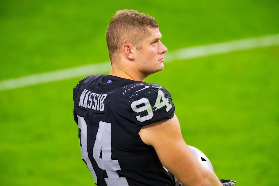 Las Vegas Raiders defensive lineman Carl Nassib is the first active NFL player to come out as gay.