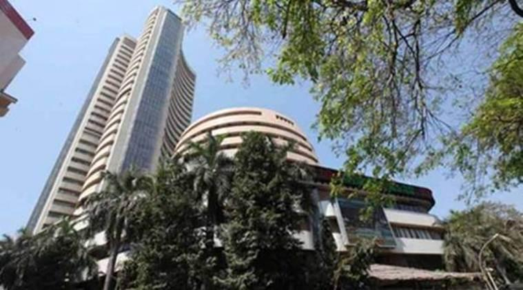The BSE benchmark Sensex has gained 2,011.5 points, or 5.90 per cent, in 2018, aided by gains in large cap stocks.