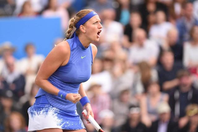 Petra Kvitova's inner steel has brought the former Wimbledon champion back into the fray after horror knife attack