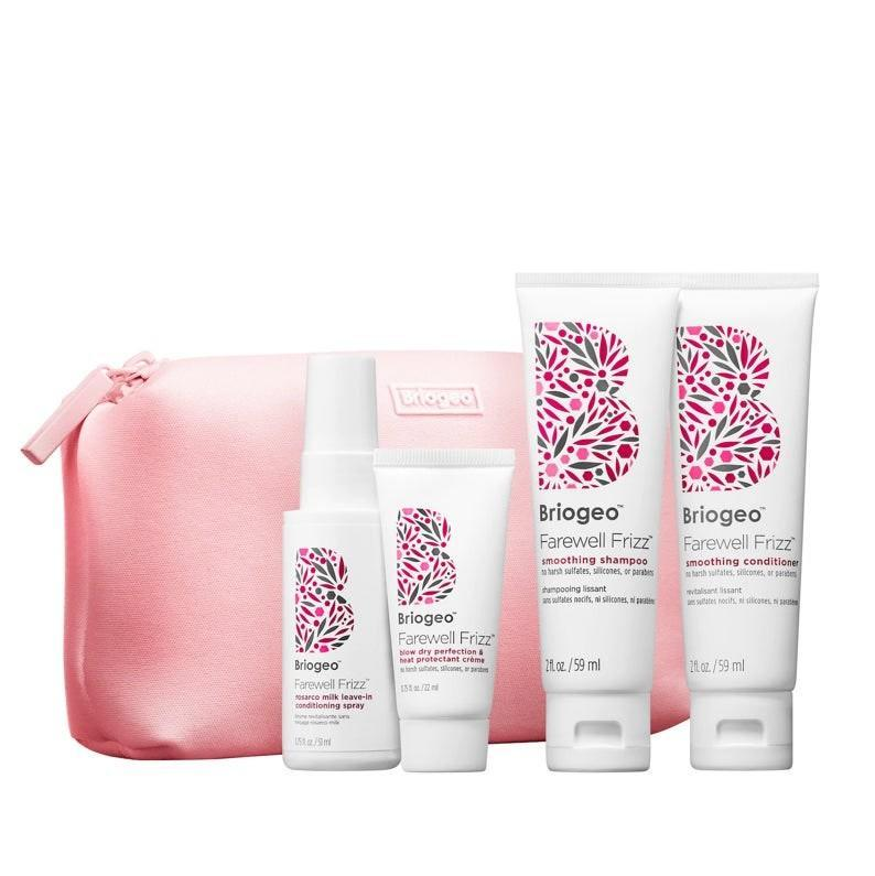 """We're big fans of <a href=""""https://www.glamour.com/story/briogeo-be-gentle-be-kind-hair-mask-review?mbid=synd_yahoo_rss"""" rel=""""nofollow noopener"""" target=""""_blank"""" data-ylk=""""slk:Briogeo"""" class=""""link rapid-noclick-resp"""">Briogeo</a>, and anyone who constantly battles humidity will appreciate this compact travel kit with the brand's best frizz-fighting formulas. $25, Briogeo. <a href=""""https://shop-links.co/1719589409964057660"""" rel=""""nofollow noopener"""" target=""""_blank"""" data-ylk=""""slk:Get it now!"""" class=""""link rapid-noclick-resp"""">Get it now!</a>"""