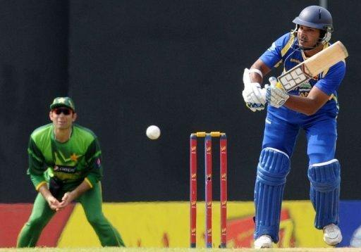 Kumar Sangakkara top-scored for Sri Lanka with a 130-ball 97