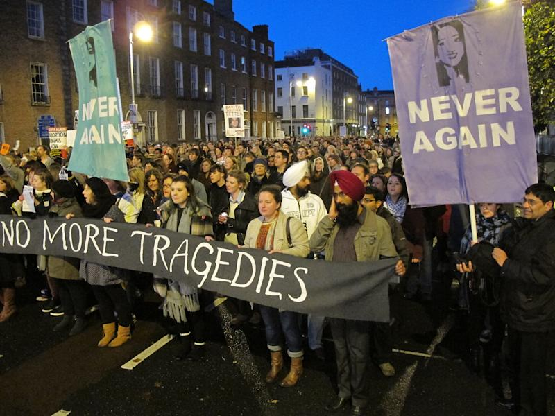 Ireland to report on woman denied Irish abortion
