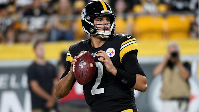 JuJu Smith-Schuster talked up Mason Rudolph, with Ben Roethlisberger to miss the remainder of the NFL season.