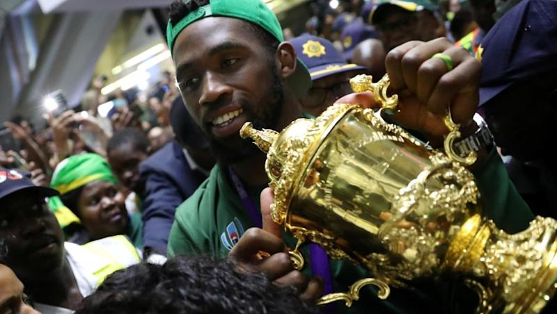 South Africa rugby skipper Kolisi anointed 2019's main man