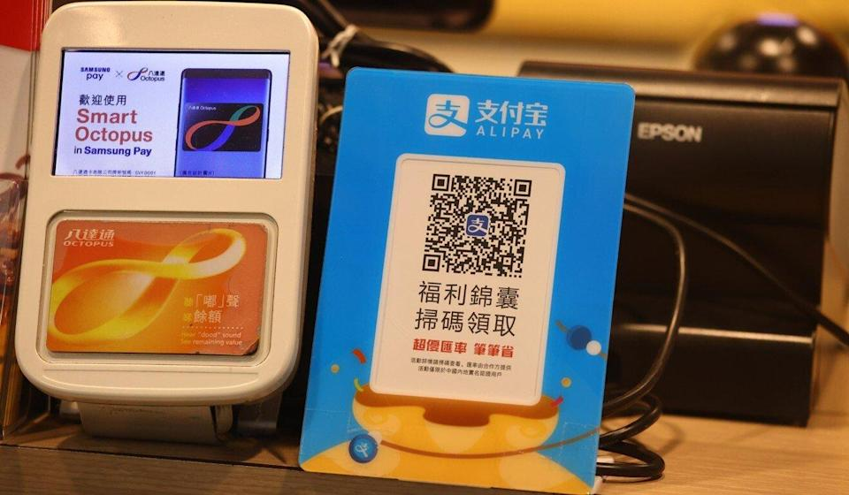 Residents will be able to use the HK$5,000 e-vouchers at numerous local merchants. Photo: Nora Tam