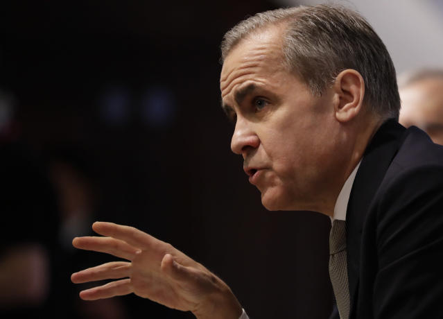 Outgoing governor of the Bank of England Mark Carney. Photo: PA