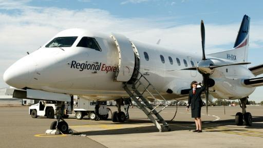 Missing Rex Saab 340 propeller located