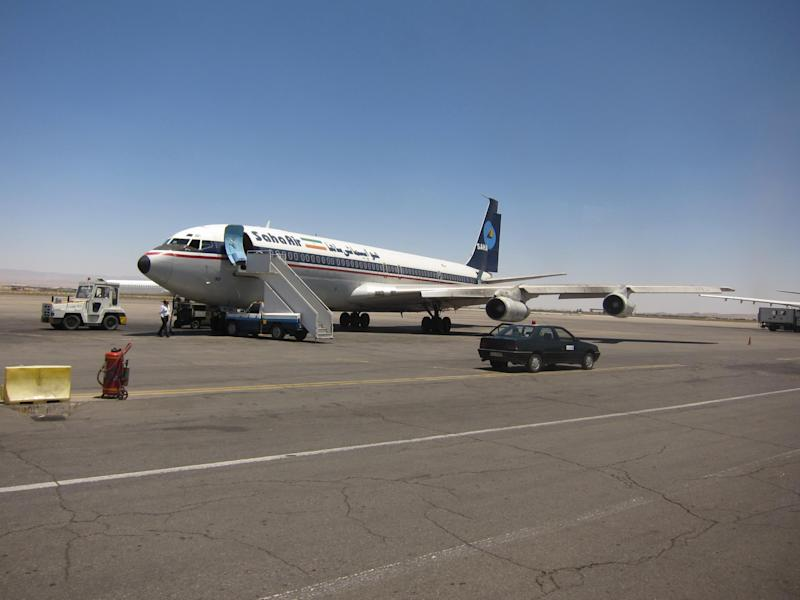 Dream trip: the last scheduled Boeing 707, working for Saha Air in Iran: Charles Kennedy