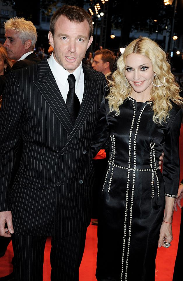"""<p class=""""MsoNoSpacing"""">With rumors swirling that she had been having an affair with New York Yankees star Alex Rodriguez, Madonna not only denied the accusation, but she insisted her seven-year marriage to director Guy Ritchie was solid! """"My husband and I are not planning on getting a divorce,"""" she told <i>People</i> magazine in July 2008. But her statement was proven false just three months later when the couple announced they were going their separate ways.</p>"""