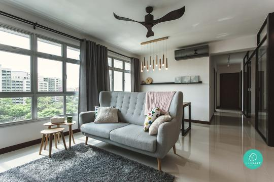 Feel Thats Both Modern And Chic Despite The Minimal Effort Whole White Meets Brown Concept Is Used Throughout Apartment For A Seamless Flow