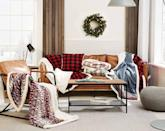 <p>If they're all about that cozy vibe, get them this <span>Eddie Bauer Home Sherpa Fleece Throw Soft Reversible Blanket</span> ($30). It comes in a variety of patterns that totally match the holiday aesthetic. </p>