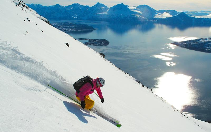 Experience the wild beauty of the Lyngen Alps in Norway - Graham Austick