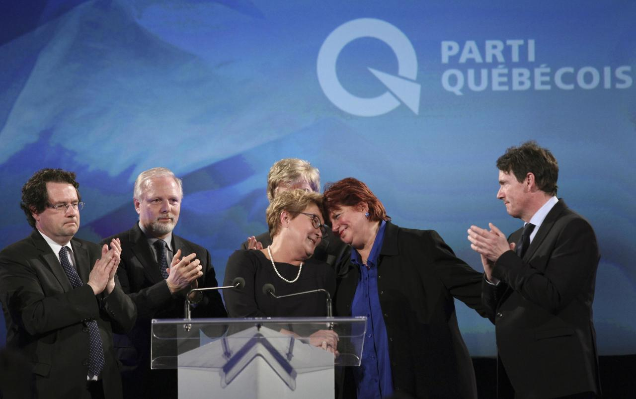 a history of the parti quebecois in canada Parti québécois pärtē kēbĕkwä´ [key] (pq), provincial political party committed to the independence of quebec founded in 1968, it soon became a force in provincial elections in 1976, led by rené lévesque , it captured control of the provincial assembly among its first acts was the .