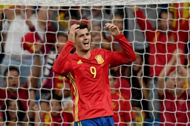 Alvaro Morata leads Chelsea quartet left out of Spain World Cup squad as Arsenal's Nacho Monreal earns call