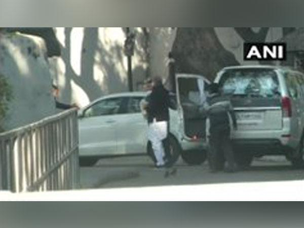 Congress leaders arrived at 10 Janpath