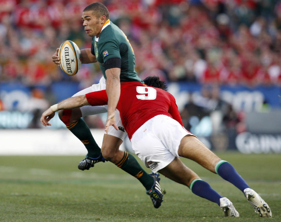 Habana, 38, starred against the Lions during the Springboks' 2-1 series victory back in 2009