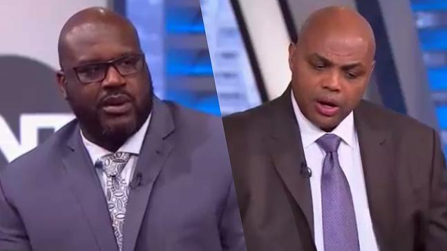 5e4eb299c89d Things Got Heated Between Shaq And Charles Barkley While Arguing Over LeBron