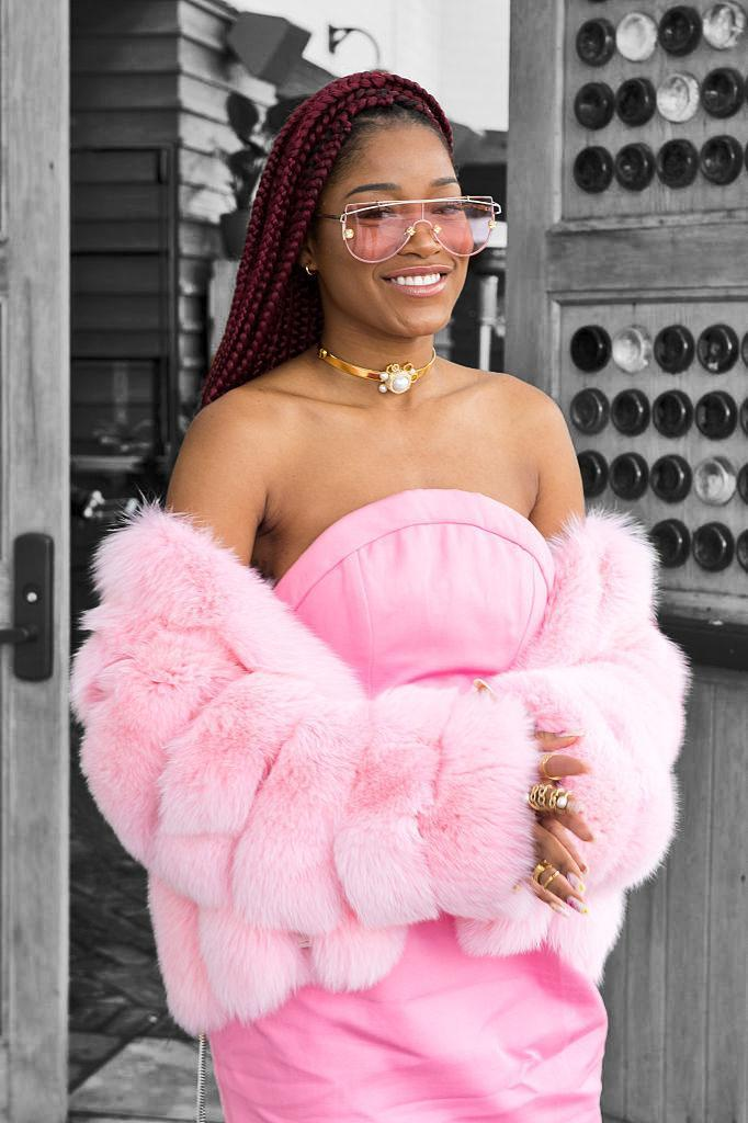 Keke Palmer knows how to tell like it is. (Photo by Emma McIntyre/Getty Images for ShoeDazzle)