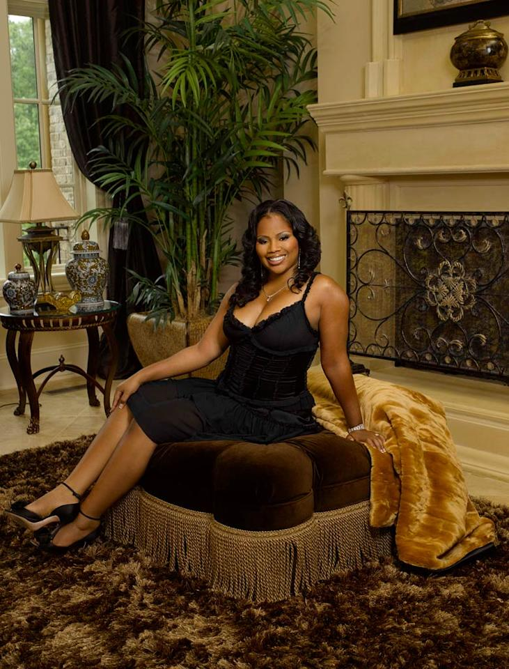 "Deshawn Snow of <a href=""/real-housewives-of-atlanta/show/43337"">The Real Housewives of Atlanta</a>."