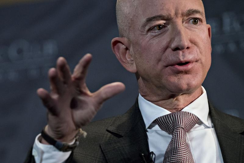 Jeff Bezos Touts Amazon Success, Customer Trust to Lawmakers