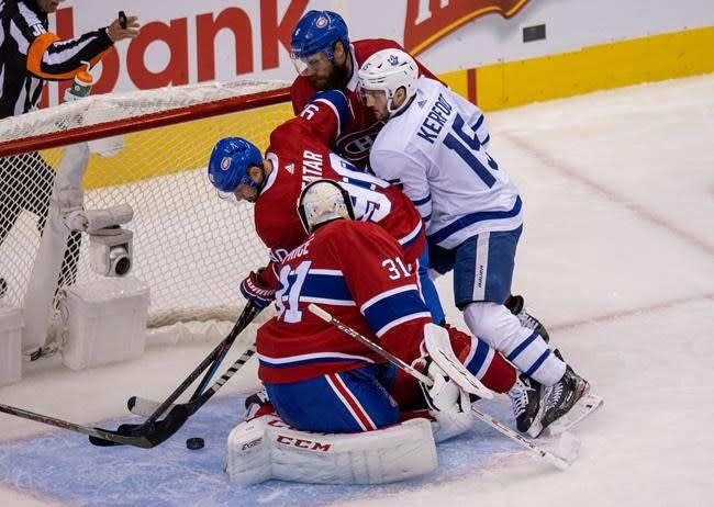 Kerfoot scores twice, Leafs down Canadiens in exhibition play as NHL returns