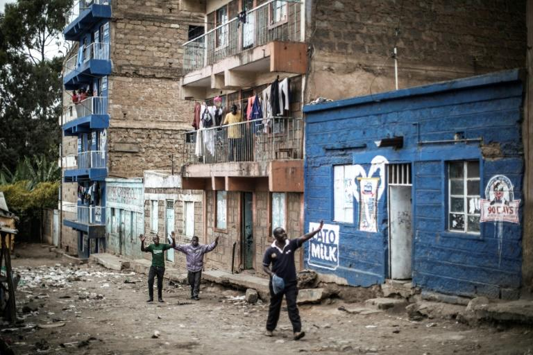 """Interior Minister Fred Matiangi blamed the unrest on """"criminal elements"""" looting and robbing businesses"""