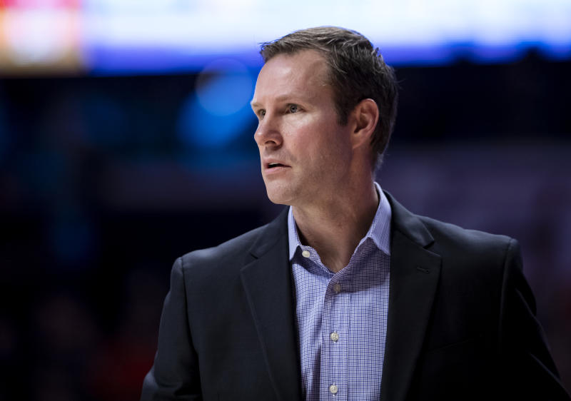 CHAMPAIGN, IL - FEBRUARY 24: Head coach Fred Hoiberg of the Nebraska Cornhuskers is seen during the game against the Illinois Fighting Illini at State Farm Center on February 24, 2020 in Champaign, Illinois. (Photo by Michael Hickey/Getty Images)