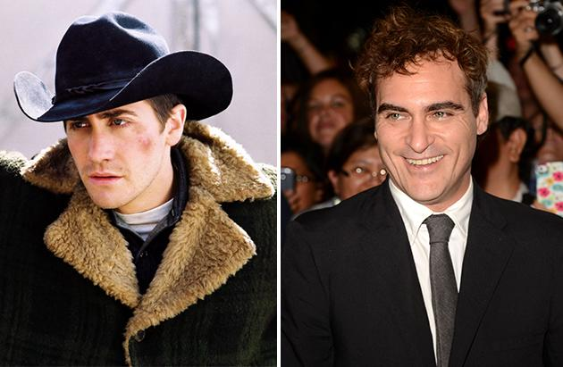 """Joaquin Phoenix is no Oscars slouch, but he could have had the lead role in """"Brokeback Mountain,"""" which later went to Jake Gyllenhaal. It turns out Matt Damon could also have had the role played by Heath Ledger, but he turned it down. """"I had just done 'The Talented Mr. Ripley' and 'All the Pretty Horses.' I said, 'I just did a gay movie and a cowboy movie. I can't do a gay cowboy movie now.'"""""""