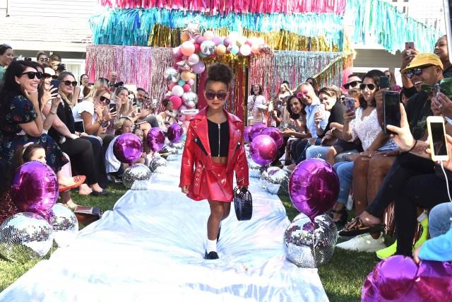 North West Walks First Runway