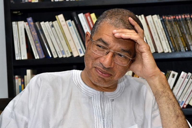 Lionel Zinsou heads a record 48 candidates seeking to contest next month's Benin presidential election (AFP Photo/Charles Placide Tossou)