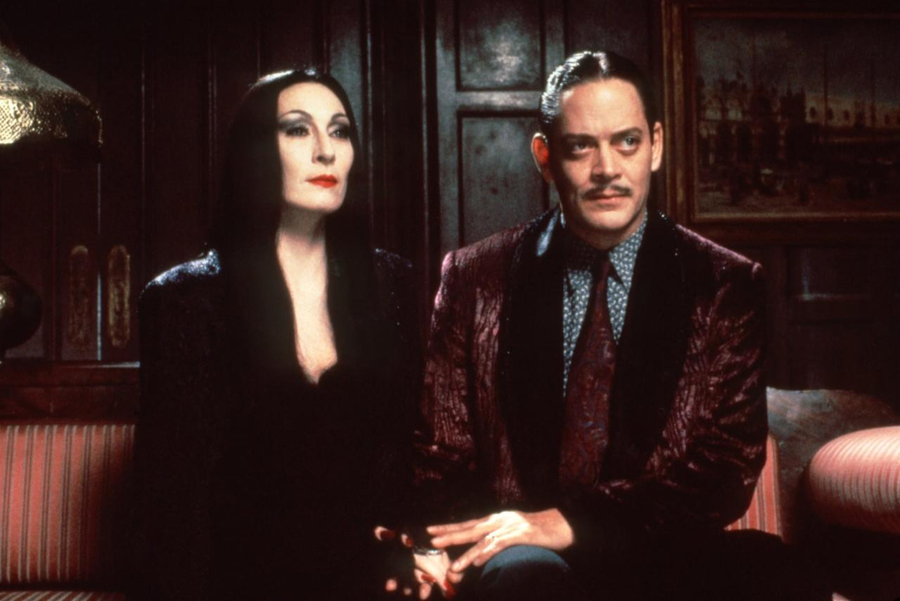 """<p>The family that scares together, stays together. Just like the Sanderson sisters, <strong>The Addams Family</strong> lives their spooky lifestyle with pride. Of course, their wicked ways aren't exactly evil - and honestly, can we all just admit that Gomez and Morticia are #goals?</p> <p><a href=""""http://www.netflix.com/title/217258"""" target=""""_blank"""" class=""""ga-track"""" data-ga-category=""""internal click"""" data-ga-label=""""http://www.netflix.com/title/217258"""" data-ga-action=""""body text link"""">Watch <strong>The Addams Family</strong> on Netflix</a>.</p>"""