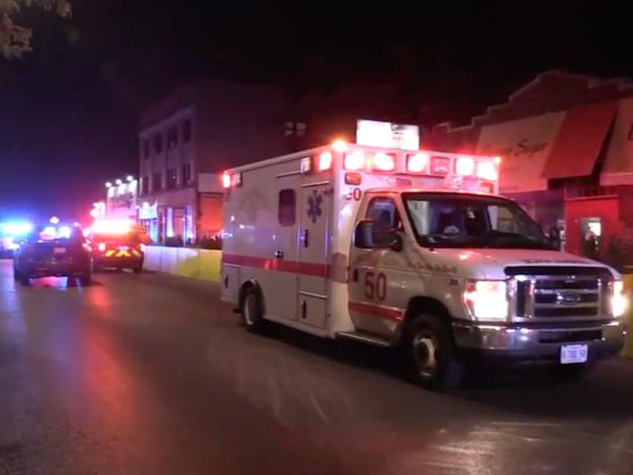 A Chicago shooting left one woman dead and another nine people injured.  (ABC 7 Chicago)