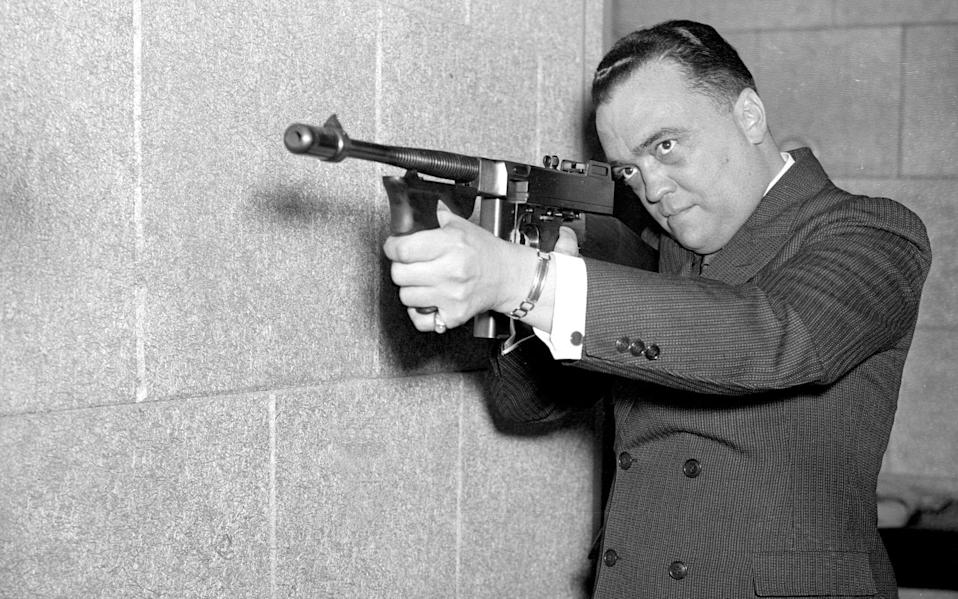 FBI director J Edgar Hoover, who mounted a smear campaign against King - Getty