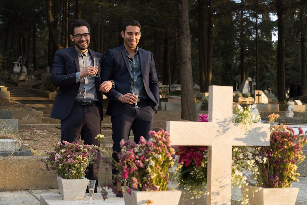 <p>Alfonso Herrera and Miguel Ángel Silvestre(Credit: Netflix) </p>