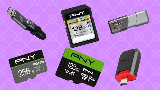 Today only, save up to 65 percent on select PNY memory products. (Photo: Amazon)