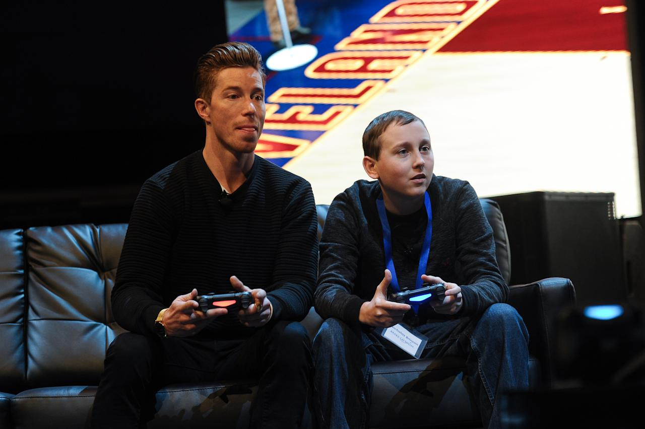 <p>White has his own eponymous video game: Shaun White Snowboarding. It was released in 2008 and made for the PlayStation 3, PlayStation 2, PlayStation Portable, Wii, Nintendo DS, Microsoft Windows, Mac OS X and Xbox 360 systems. </p>