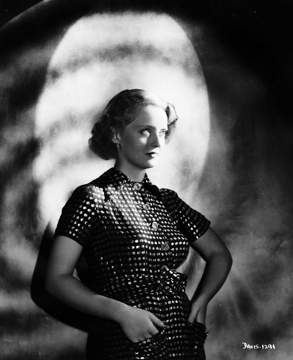 <p>A portrait of Bette Davis taken for Warner Bros. Studios in 1931, when she signed her contract with the studio following the success of<em> The Man Who Played God</em>. She would remain at the studio for the next 18 years. </p>