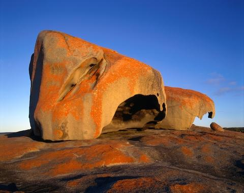 A curious rock formation in Flinders Chase National Park - Credit: GETTY