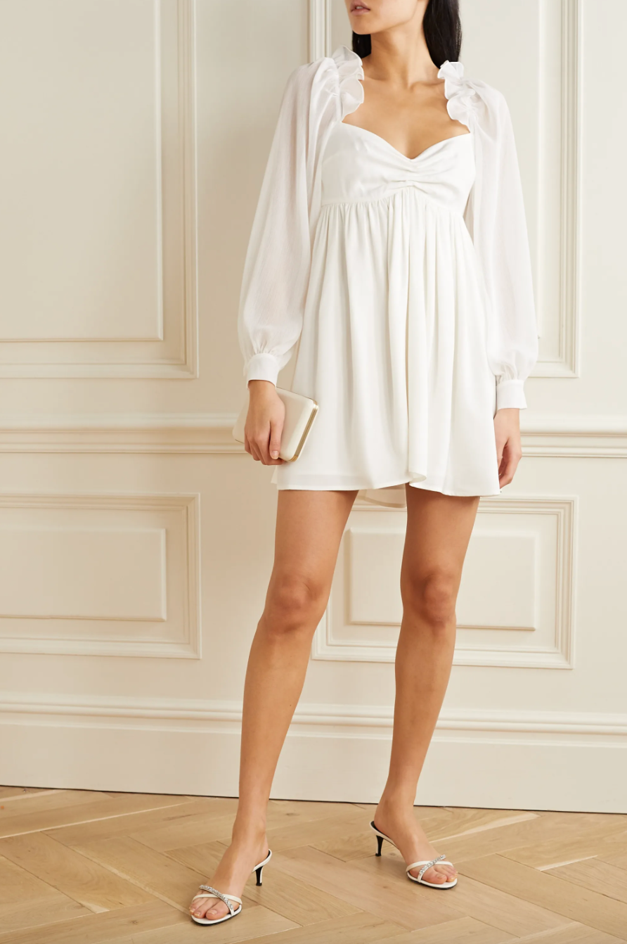 Vanessa Cocchiaro 'Charlotte' Mini Dress (Photo via Net-A-Porter)