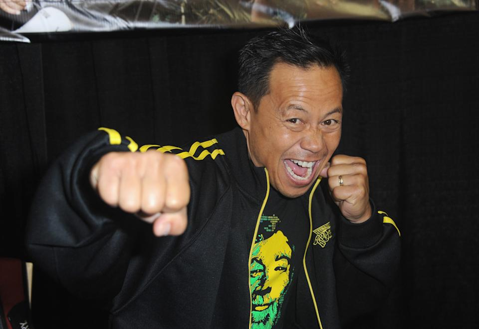 SAN JOSE, CA - APRIL 22:  Actor Ernie Reyes Jr. Silicon Valley Comic Con 2017 held at San Jose Convention Center on April 22, 2017 in San Jose, California.  (Photo by Albert L. Ortega/Getty Images)