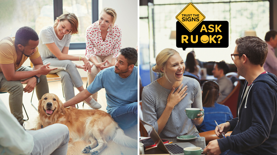 Here's how to navigate those R U OK? Day conversations. (Source: Getty)